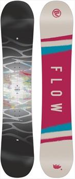 Flow Silhouette Women's Zero Camber Snowboard, 144cm 2018