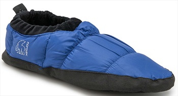 Nordisk Mos Down Shoes Insulated Camping Slippers, UK 2.5-5 Blue