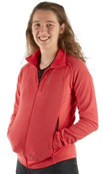 Norrona Womens Lofoten Warm1 Women's Midlayer Jacket, S Crisp Ruby