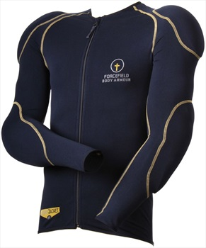 Forcefield Sports Jacket L1-2 Body Armour + Back Protector, XL Navy