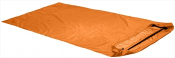 Ortovox Bivy Double Lightweight Survival Bag, 110 X 230 Cm, Orange
