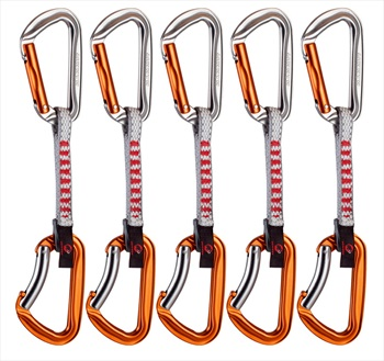 Mammut Quickdraw 5er Pack Wall Key Lock Express - 5 Pack, Orange