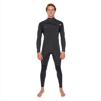 Body Glove Pr1me 3/2 Slant Zip Full Suit Surfing Wetsuit, MS Black