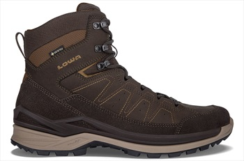 Lowa Toro Evo GTX Mid Men's Hiking Boots, UK 8 Dark Brown/Taupe