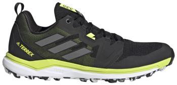 Adidas Terrex Agravic Men's Trail Running Shoes UK 10.5 Black/Yellow