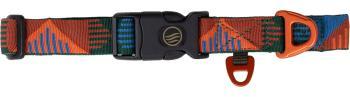 United By Blue Woven Dog Collar Webbing Pet Collar Salmon