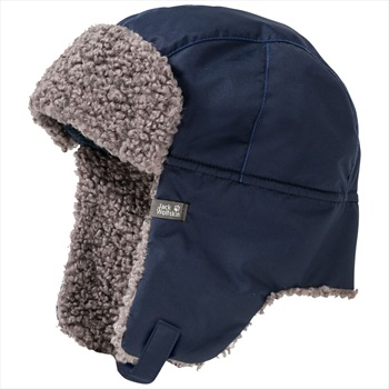 Jack Wolfskin Child Unisex Stormlock Paw Shapka Kids Hat, M Night Blue