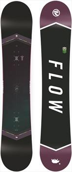 Flow Venus Black Women's Hybrid Camber Snowboard, 143cm 2018