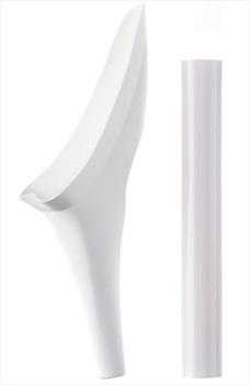 Shewee Flexi Female Urination Device, Pure White