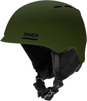 Sinner Fortune Ski/Snowboard Helmet XL Matte Moss Green