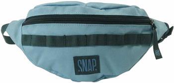 Snap Hip Bag, Travel Pack Bum Bag, 21 X 13 X 10 Cm, Light Blue