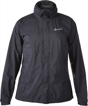 Berghaus Light Hike Hydroshell Women's Waterproof Jacket UK 8 Black