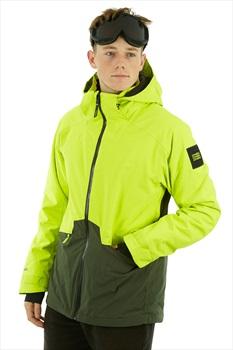 O'Neill Quartzite Ski/Snowboard Jacket, M Lime Punch