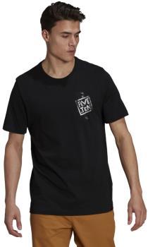 Adidas Five Ten Stealth Cat Logo Cotton T-shirt, M Black