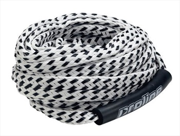 "Proline Super Duty 3/4"" Tube Rope, 6 Person Black White"