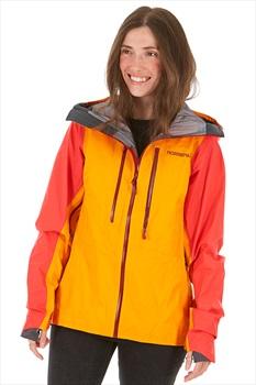 Norrona Lyngen Gore-Tex Women's Snowboard/Ski Jacket, S Orange Crush