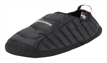 Montane Icarus Hut Insulated Camping Slippers, S Black