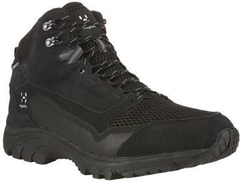 Haglofs Skuta Mid Proof Eco Men's Hiking Boots, UK 8 True Black