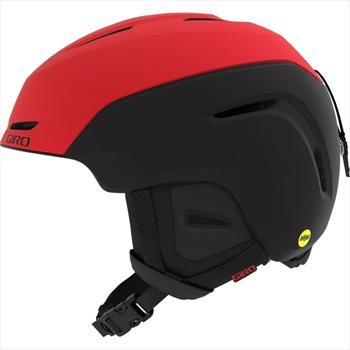 Giro Adult Unisex Neo Mips Ski/Snowboard Helmet, L Matte Bright Red/Black