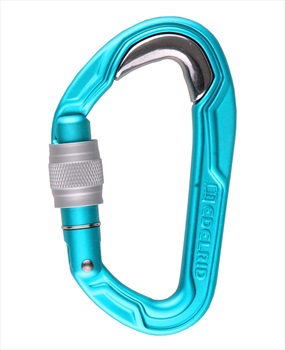 Edelrid Bulletproof Screw VPE5 Screwgate, OS Blue Steel