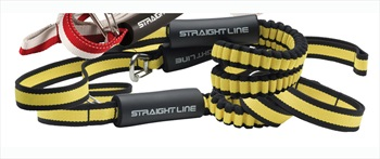 Straight Line Deluxe Dock Tie, 4 Ft Black Yellow