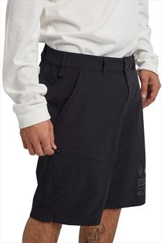 Burton Adult Unisex [ak] Lapse Stretchy Hiking Shorts, XS True Black