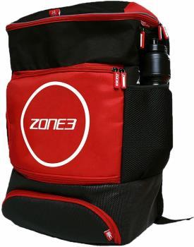 Zone3 Transition Backpack Triathlon Duffel Bag, 40L Red/Black