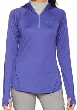 Marmot Indio 1/2 Zip Women's Fleece - S, Electric Purple