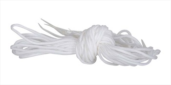 Liquid Force Laces For Wakeboard Bindings, ONE PAIR White