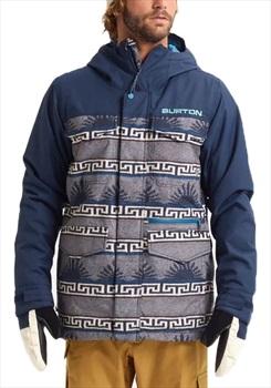 Burton Covert Shell Snowboard/Ski Jacket, Xl Spurwink/Dress Blue