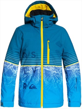 Quiksilver Silvertip Kid's Ski Jacket, Age 12 Lyon Blue Benzal