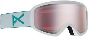 Anon Insight Sonar Silver Women's Ski/Snowboard Goggles, S/M White