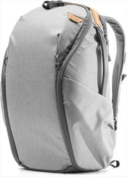 Peak Design Everyday Backpack V2 Zip 20L EDC Rucksack, 20L Ash