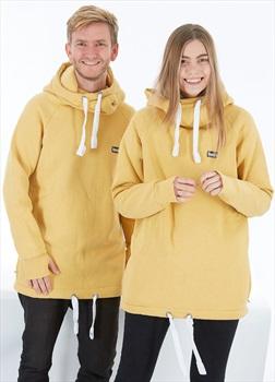 bro! Chill N'shred Unisex Ski/Snowboard Hoodie, M Caramel
