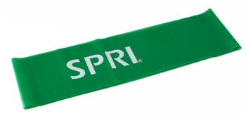 SPRI Adult Unisex Flat Light Exercise Resistance Band, 5ft Green