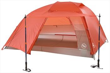 Big Agnes Copper Spur HV UL3 Ultralight Backpacking Tent, Orange