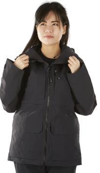 FW Catalyst 2L Women's Snowboard/Ski Jacket, M Slate Black