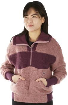 FW Root Pillow Women's Pullover Midlayer Fleece, XS Pastel Canyon