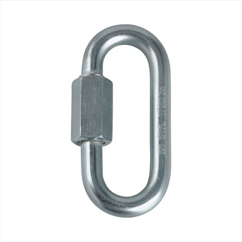 Mammut 8mm Maillon Climbing Locking Chain Link, OS Silver