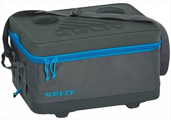 Kelty Folding Cooler Duffel Bag Collapsible Cool Box, 17L Grey