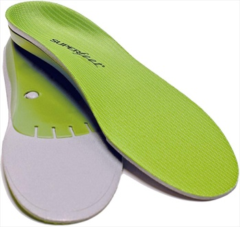 Superfeet Trim To Fit Replacement Shoe Insoles, A Green