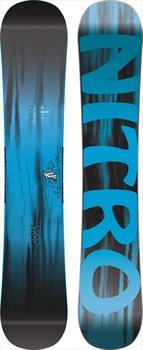 Nitro Good Times Hybrid Camber Snowboard, 157cm Wide 2019