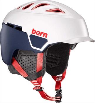 Bern Heist Brim MIPS Ski/Snowboard Helmet, M Satin Patriot