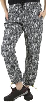 Kavu Womens Tela Relaxed Fit Women's Quick Dry Pants, Uk 14 Ink Leaf