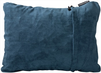 ThermaRest Compressible Travel Pillow Camping Pillow, XL Denim