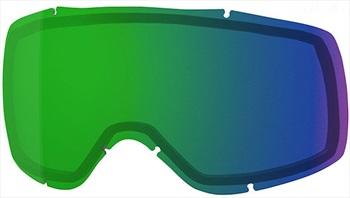 Smith Showcase Snowboard/Ski Goggle Spare Lens, One Size Chromapop Green
