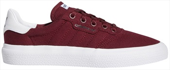 Adidas 3MC Womens/Kids Trainers Skate Shoes, UK 4.5 Burgundy/White