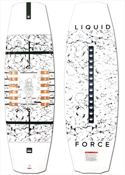 Liquid Force Rhythm Wood Core Park Track Wakeboard, 144 White 2021