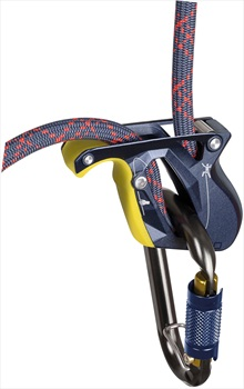 Salewa Ergo Belay System Rock Climbing Belay Device, 8.6-11mm, Night