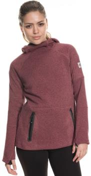686 Knit Tech Women's Fleece Hoody, M Crushed Berry Melange